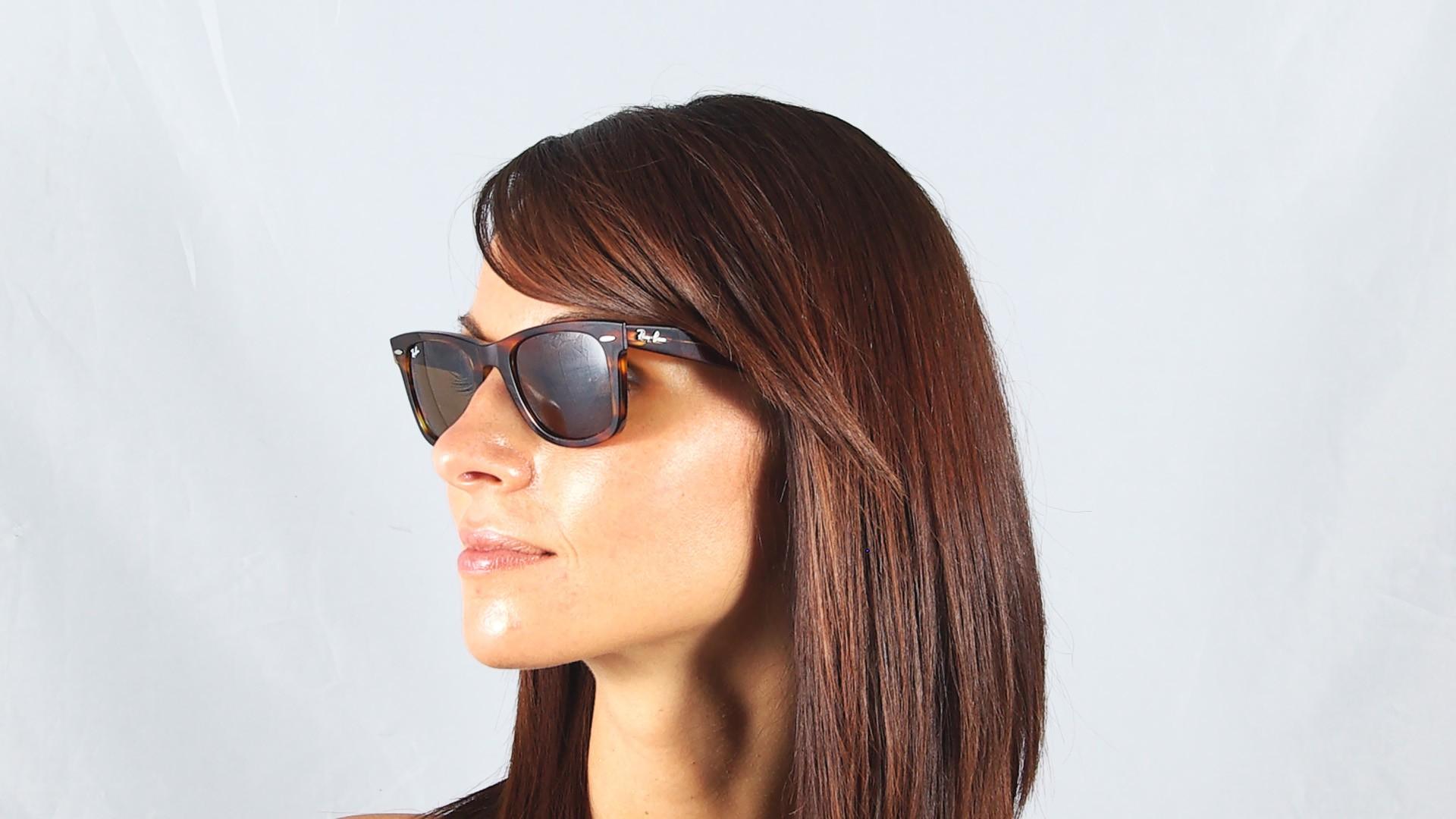 c297ce9db1f Sunglasses Ray-Ban Original Wayfarer Tortoise RB2140 954 50-22 Medium
