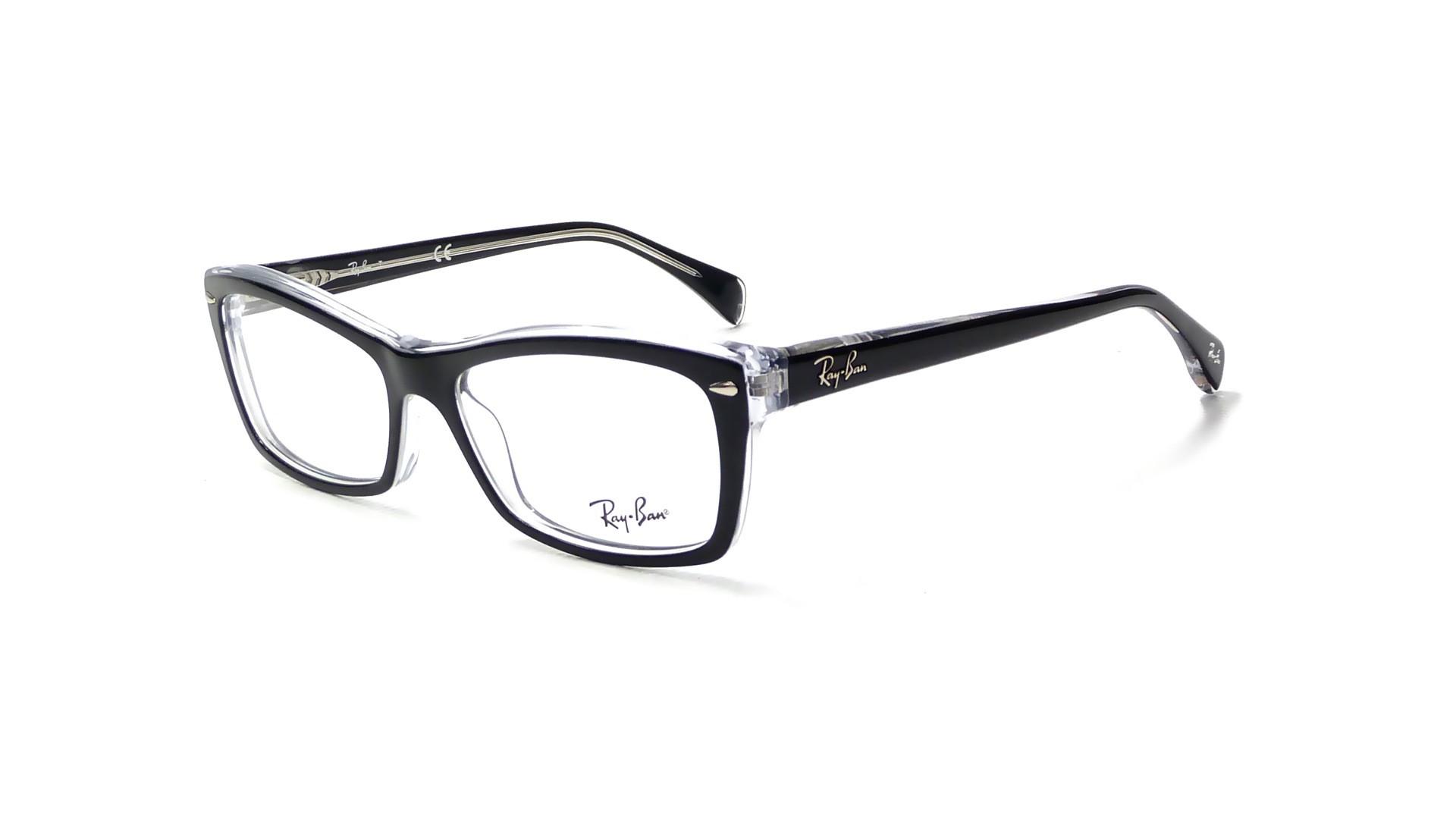 Lunettes de vue Ray-Ban RX5255 RB5255 2034 53-16 Noir   Prix 41,96 €    Visiofactory 38a0adc253fa