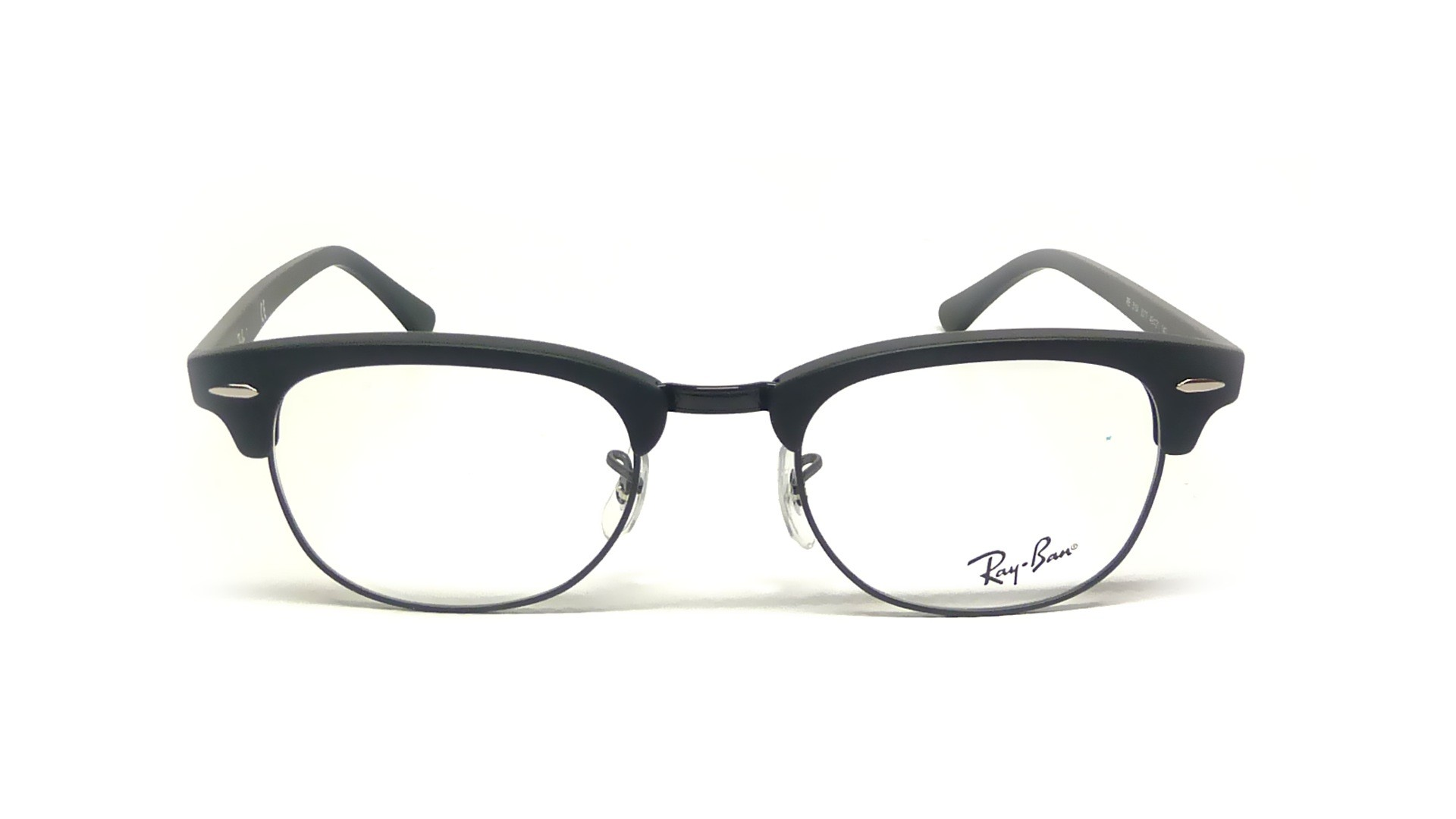 Ray Ban Clubmaster Black Rx5154 Rb5154 2077 51 21 Medium
