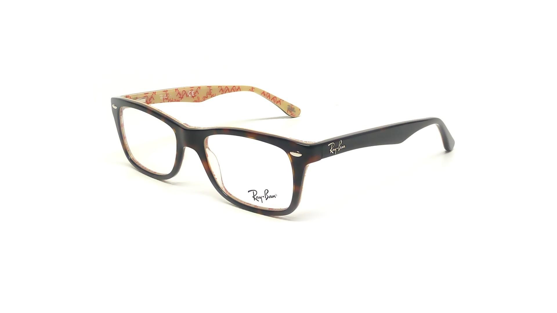 22003c3916 Eyeglasses Ray-Ban RX5228 RB5228 5057 53-17 Tortoise Medium
