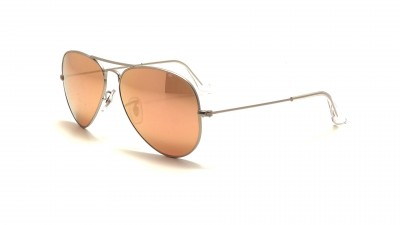 4ea090548b73 Sunglasses Ray-Ban Aviator Large Metal Silver RB3025 019/Z2 58-14 Large  Mirror