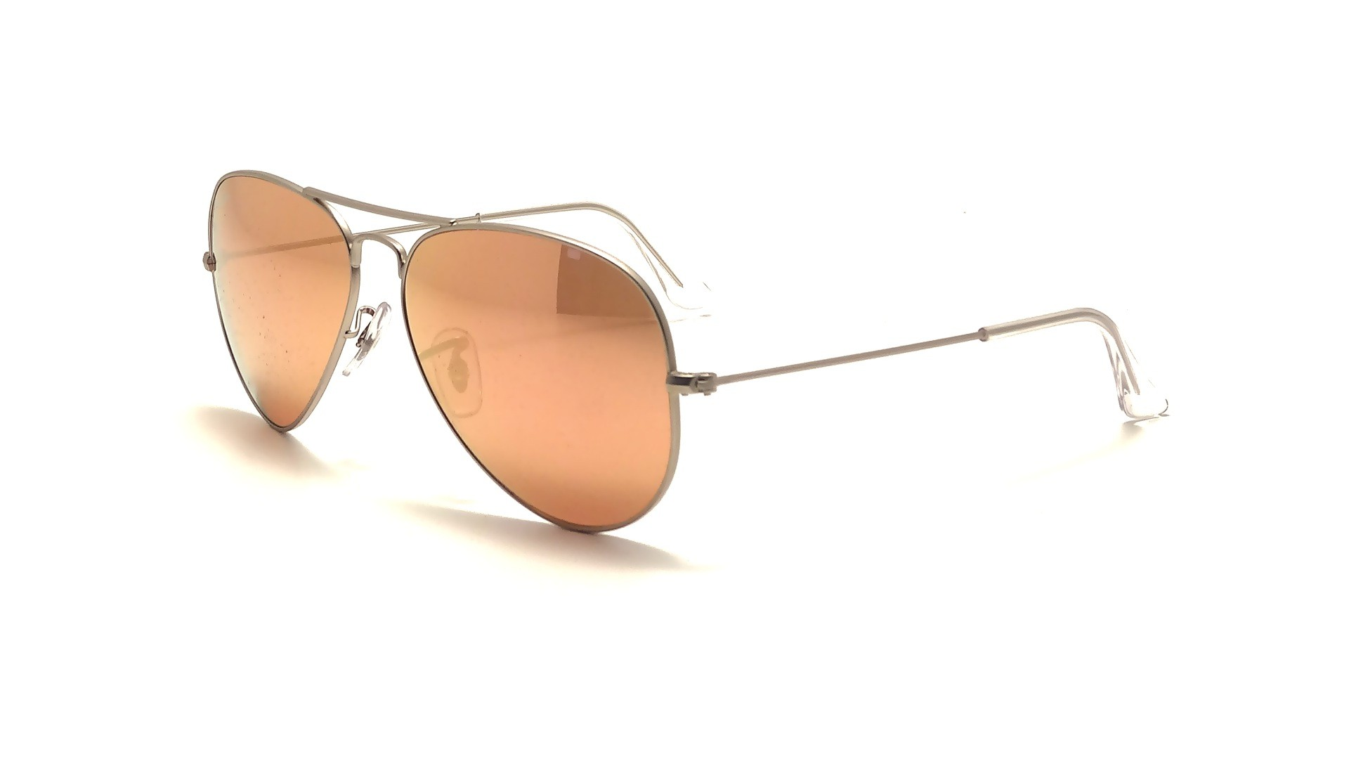 Sunglasses Ray-Ban Aviator Large Metal Silver RB3025 019 Z2 58-14 Large  Mirror 77ba30a9ef16
