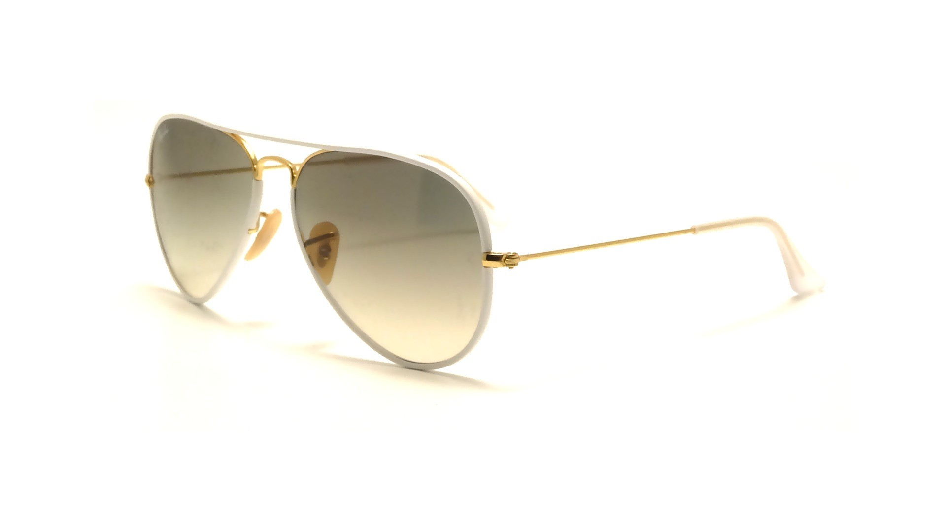 65feef161a Ray-Ban Aviator Full Color White RB3025JM 146 32 58-14
