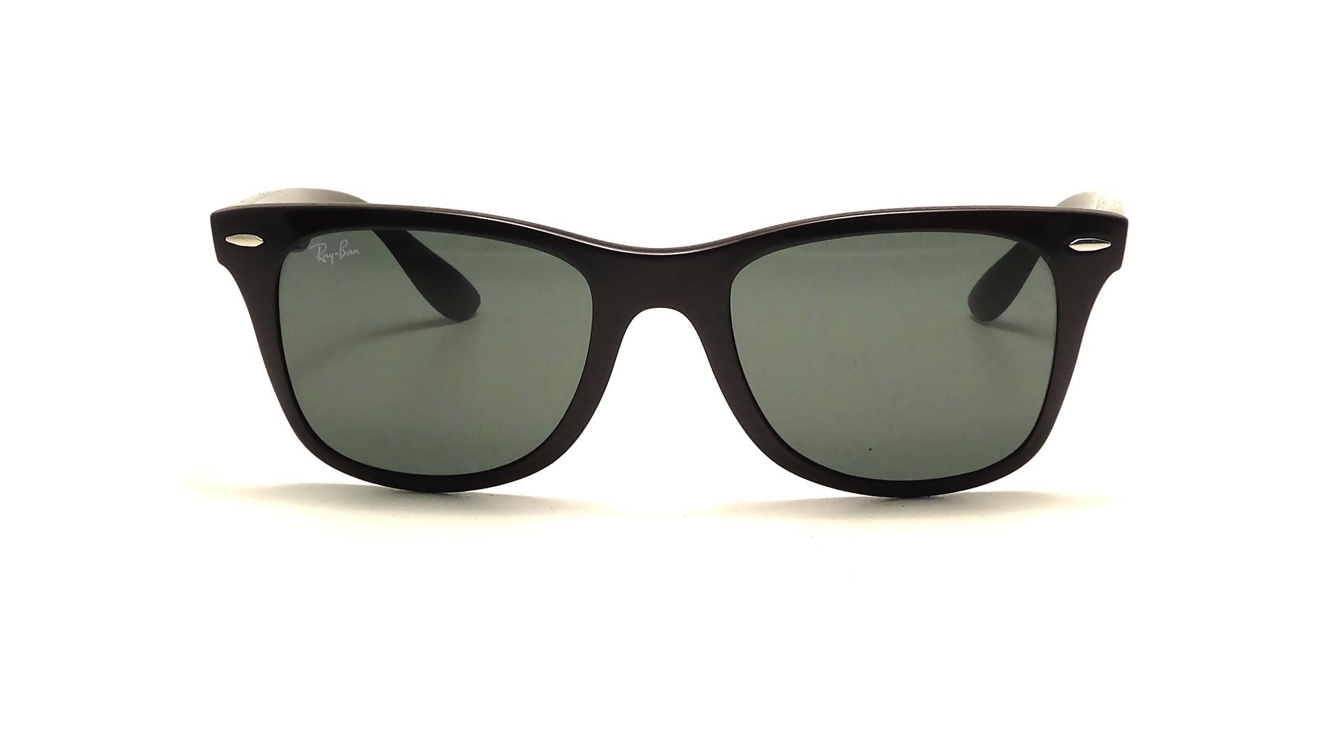 9d0e895af54 Sunglasses Ray-Ban Wayfarer Liteforce Black RB4195 601 71 52-20 Medium