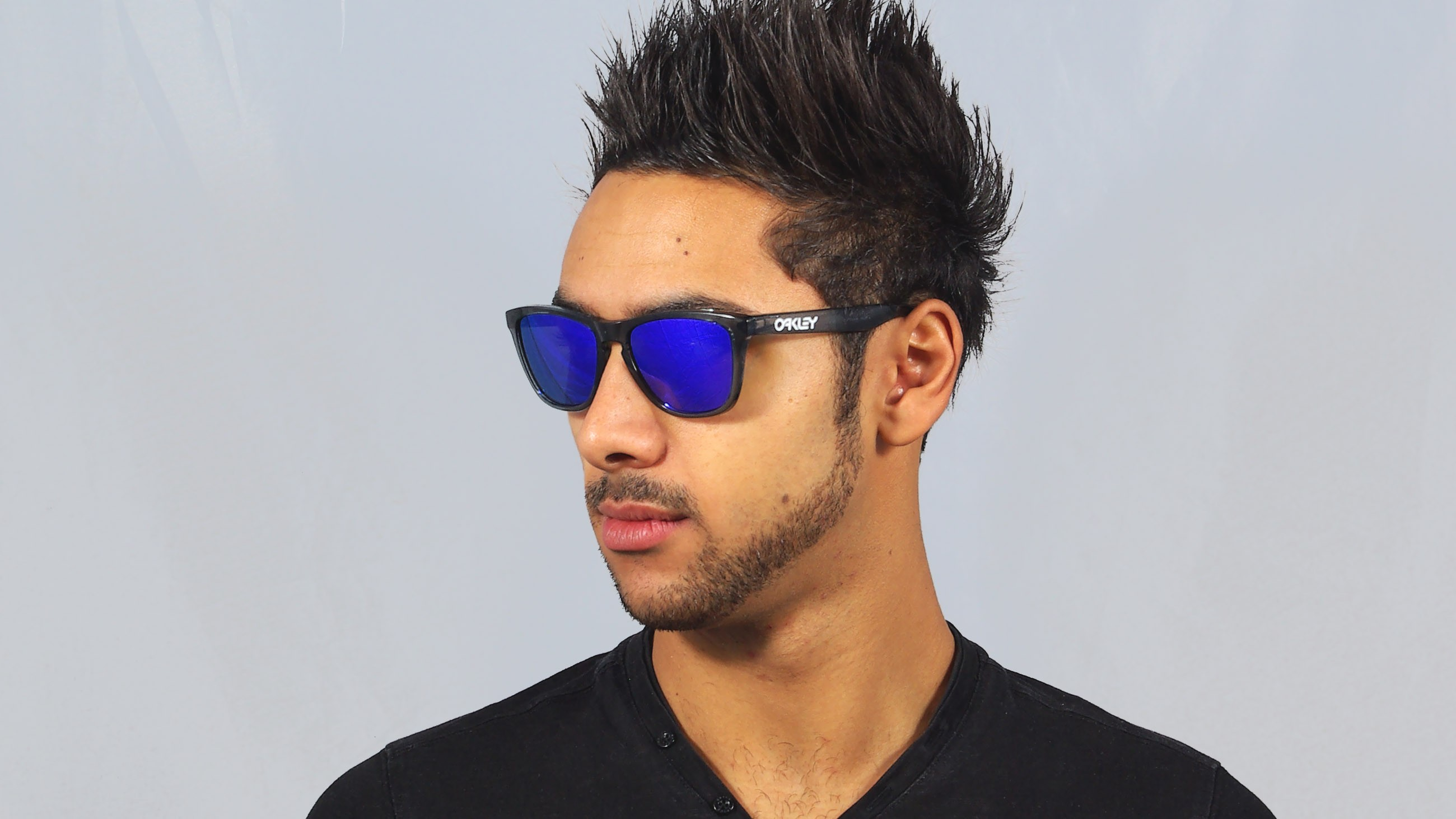 8a0686c949 Sunglasses Oakley Frogskins Black OO9013 24-306 55-17 Medium