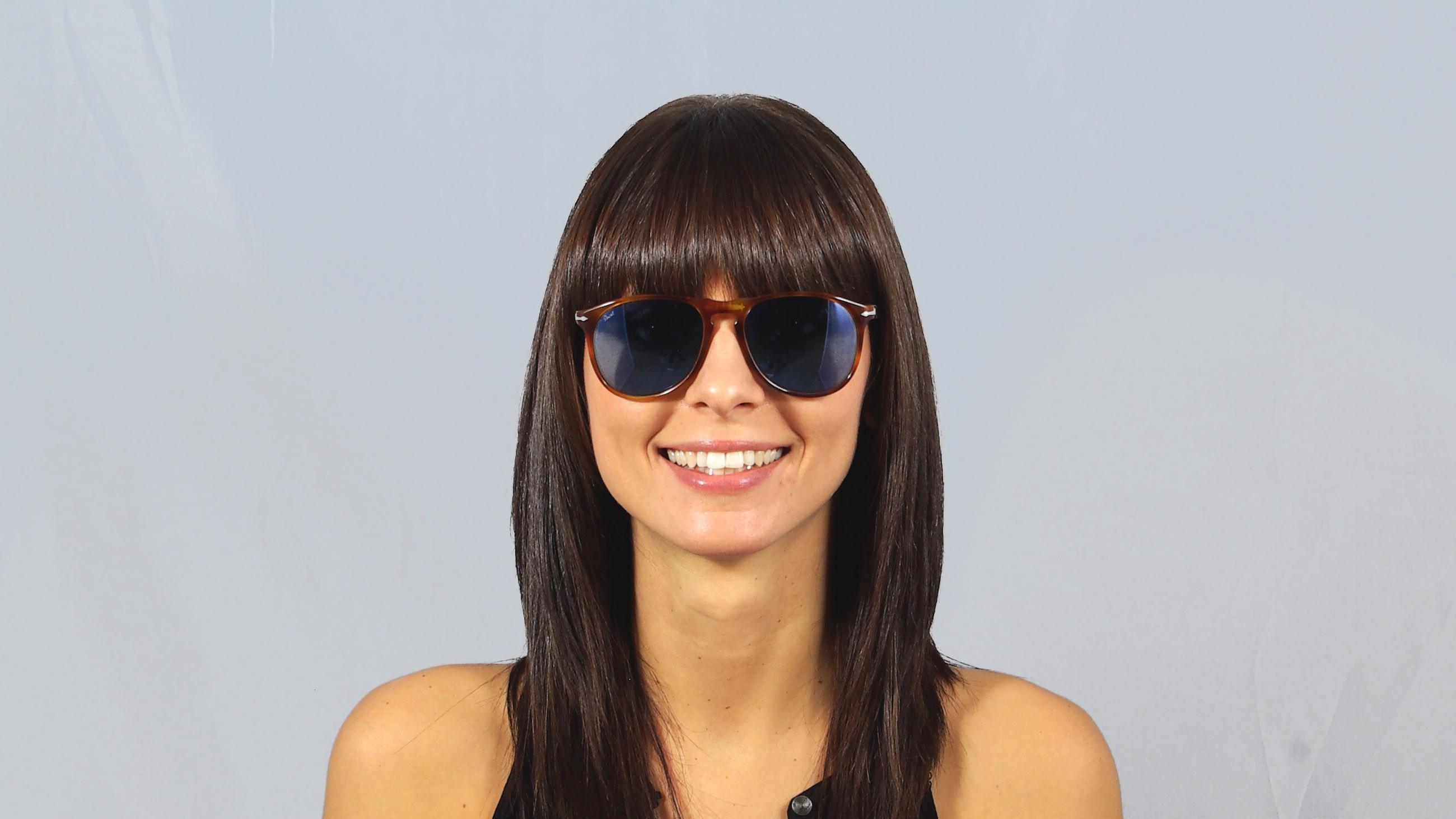 4d87a881a18 Sunglasses Persol PO9649S 96 56 55-18 Terra di Siena Tortoise Large