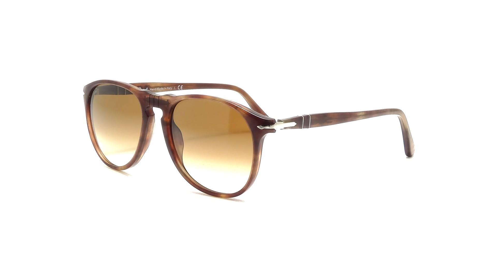 2e563c4ed7 Sunglasses Persol PO9649S 972 51 55-18 Brown Large Gradient