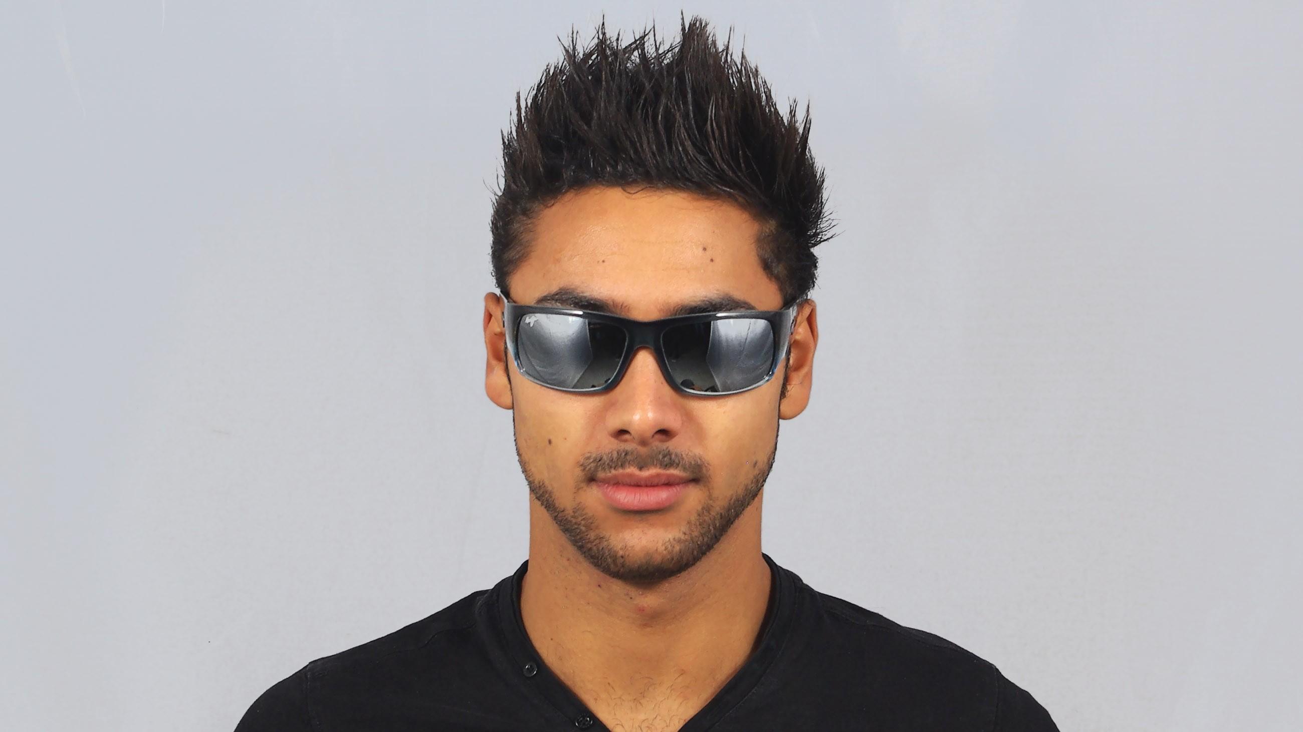 5674894376c Sunglasses Maui Jim World Cup Grey 266-03F 64-19 Large Polarized Mirror