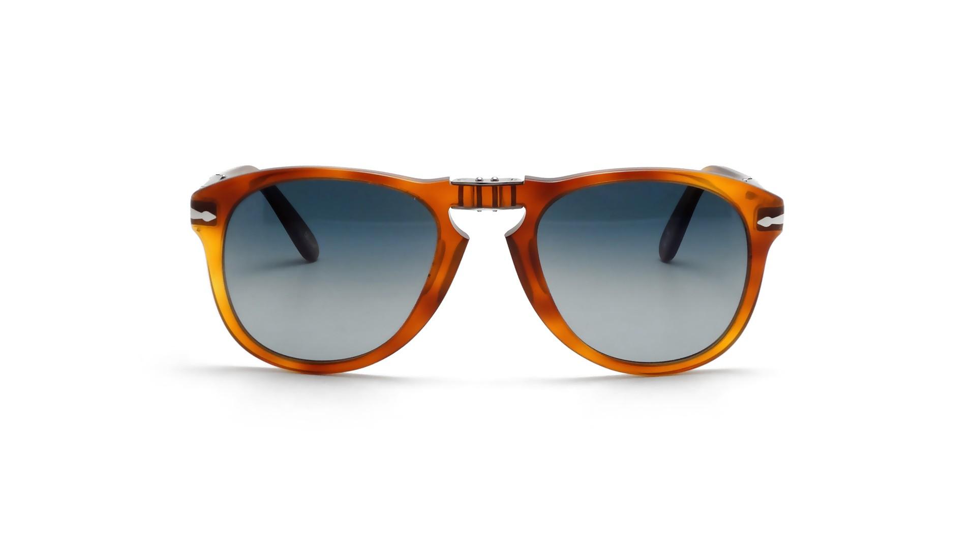 Sunglasses Persol Steve McQueen Havane Tortoise PO0714SM 96S3 54-21 Large  Polarized Gradient fd8f2feed3d2