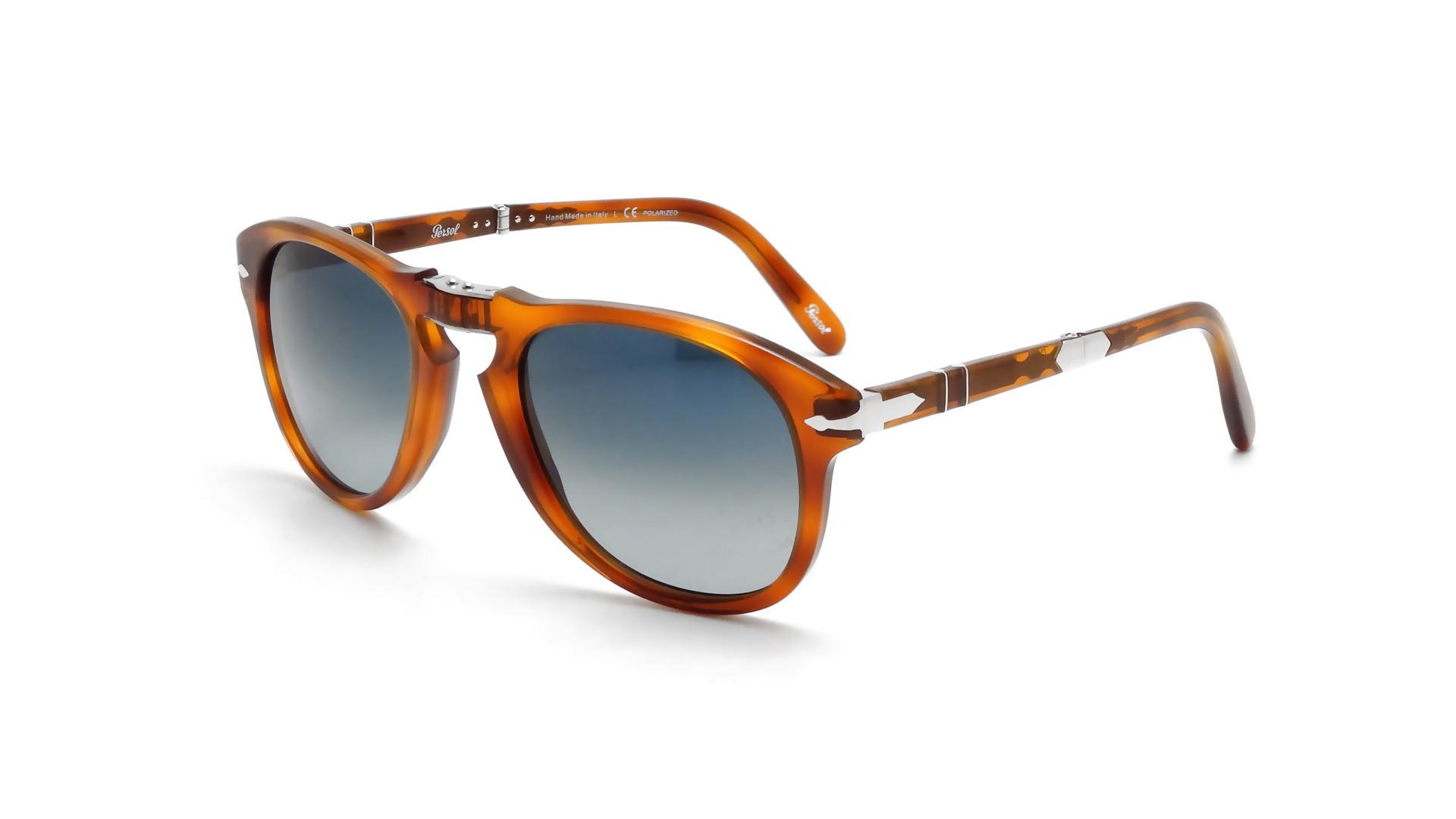 641a1a90398 Sunglasses Persol Steve McQueen Havane Tortoise PO0714SM 96S3 52-21 Medium  Polarized Gradient