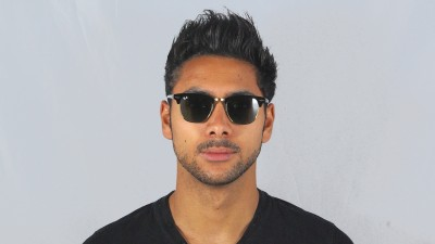 Ray-Ban Clubmaster Classic Noir RB3016 W0365 49-21