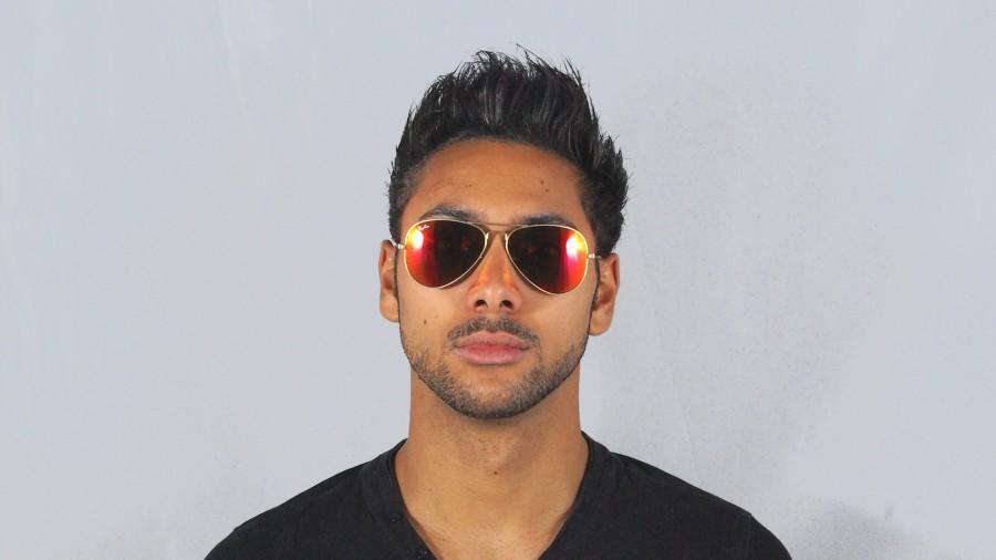 6d70573b81 Sunglasses Ray-Ban Aviator Large Metal Gold RB3025 112 69 58-14 Large Mirror