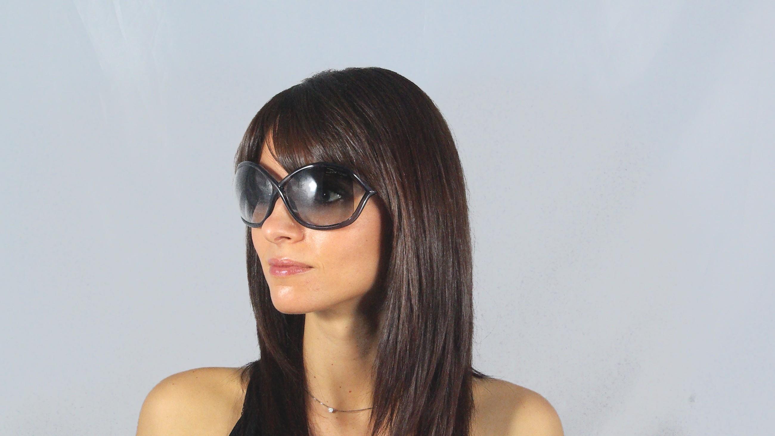4e3bc3304656e Sunglasses Tom Ford Whitney Grey FT0009 0B5 64-14 Large Gradient