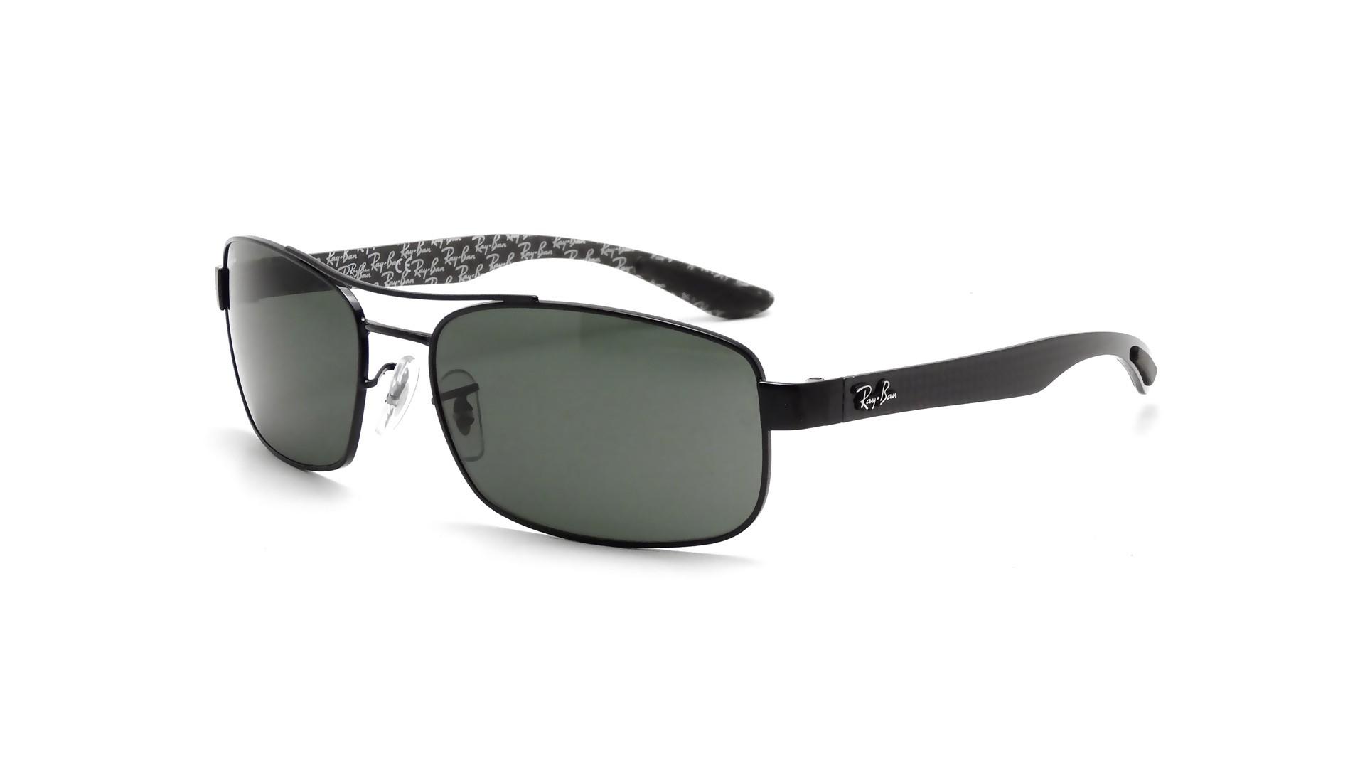 5987232641 Sunglasses Ray-Ban Fibre Carbon Black RB8316 002 62-18 Large