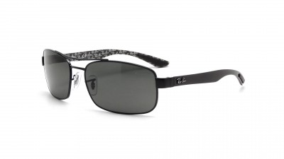 4dfdacc208a3c Ray-Ban Fiber Carbon Black RB8316 002 N5 62-18 Polarized ...