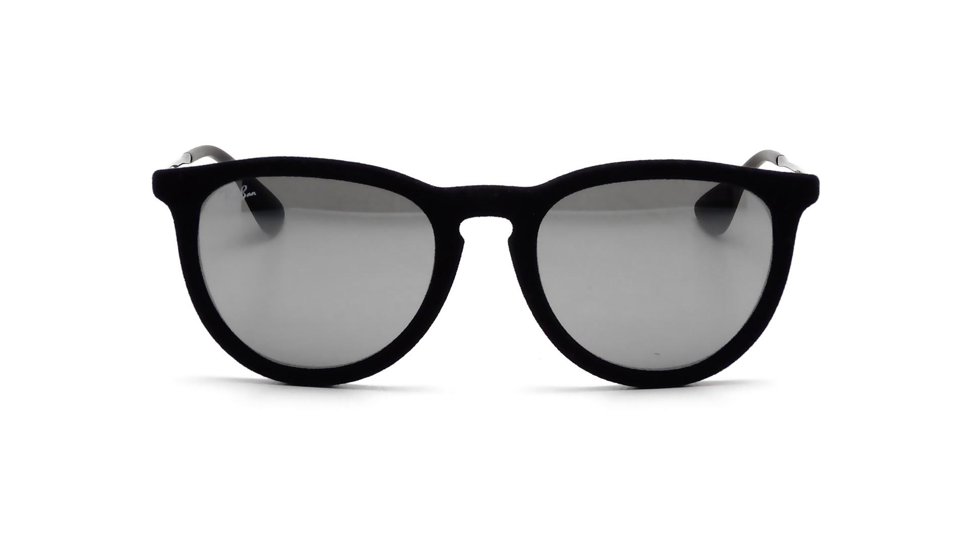 81edfcdc61003 Sunglasses Ray-Ban Erika Velvet Edition Black RB4171 6075 6G 54-18 Medium  Mirror