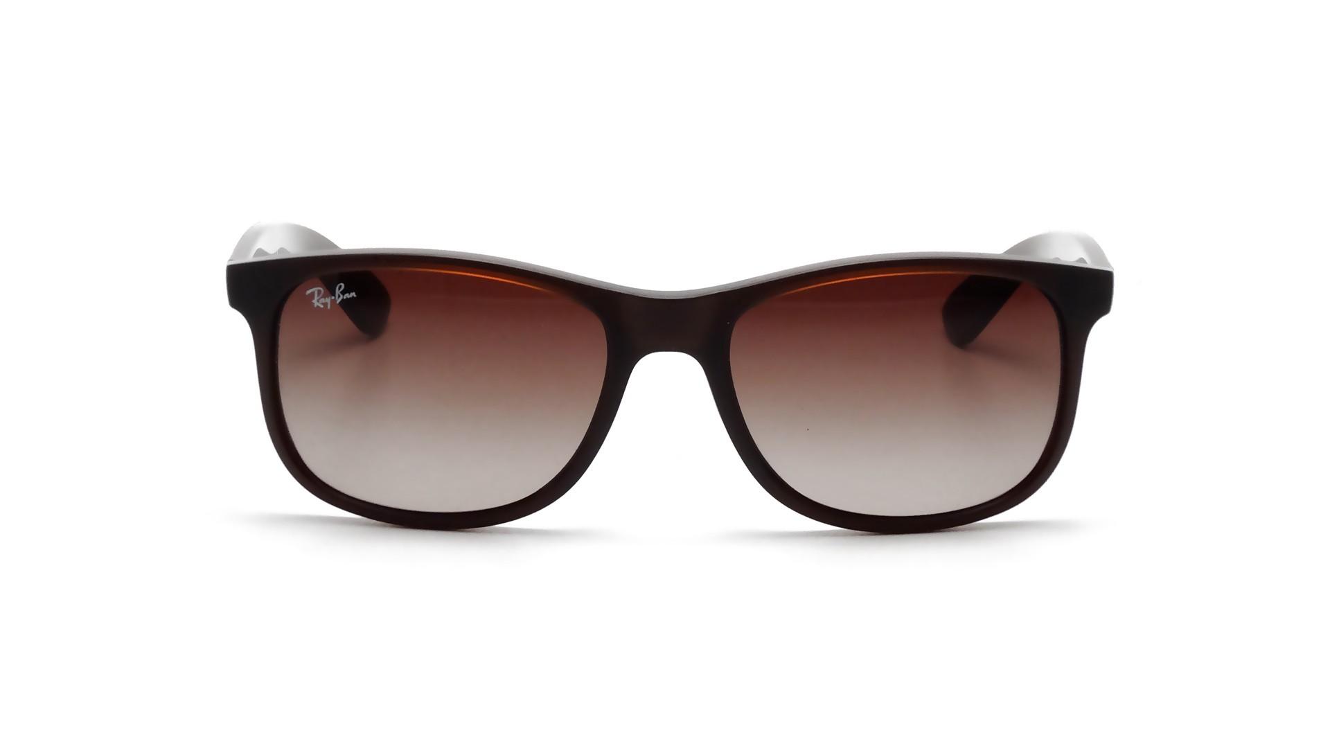 649462b046 Sunglasses Ray-Ban Andy Brown Matte RB4202 6073 13 55-17 Medium Gradient