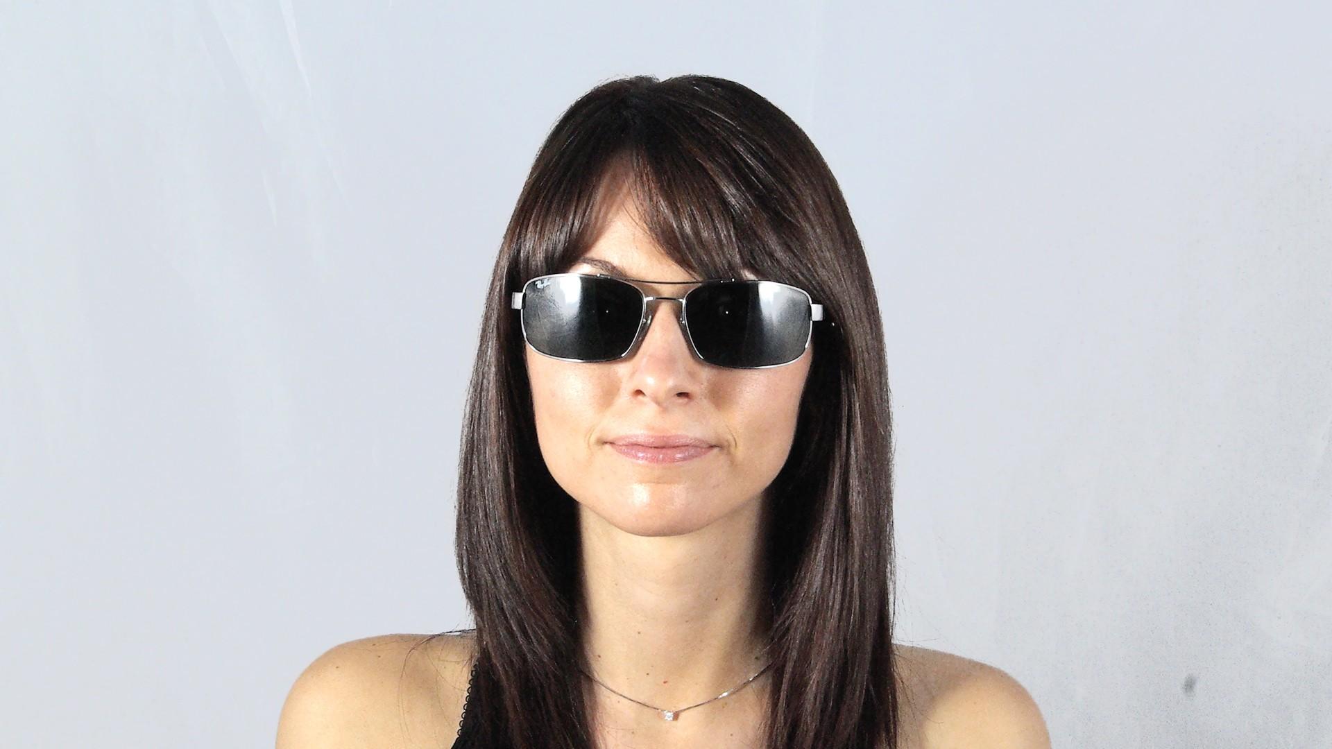 ba0e08d084d Sunglasses Ray-Ban Fibre Carbon Grey RB8316 004 62-18 Large