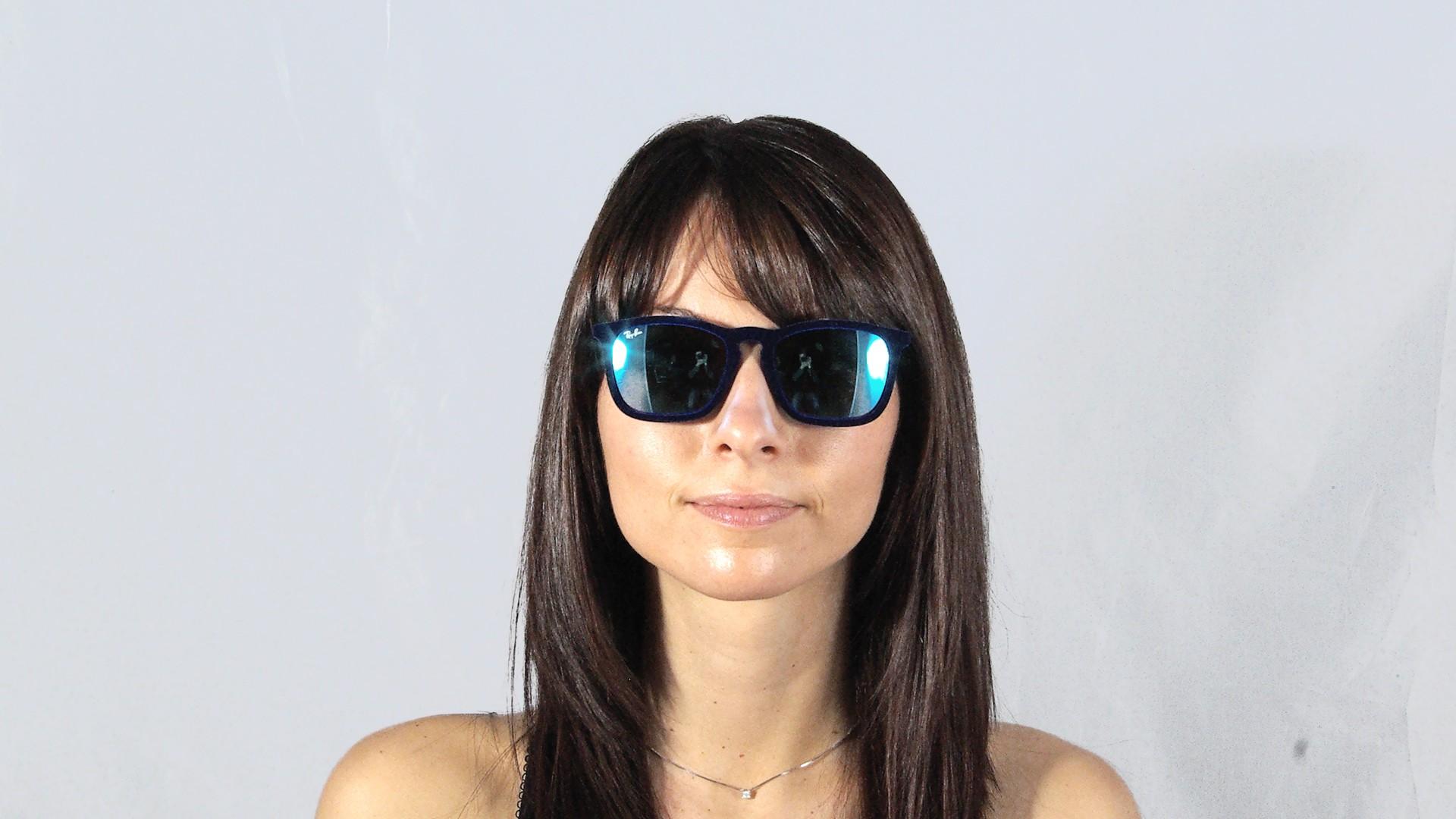 ad31808214e Sunglasses Ray-Ban Chris Velvet Edition Blue RB4187 6081 55 54-18 Medium  Mirror