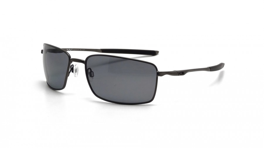 Oakley Square Wire OO4075 04 60 carbon / grey polarized n3cxeVb