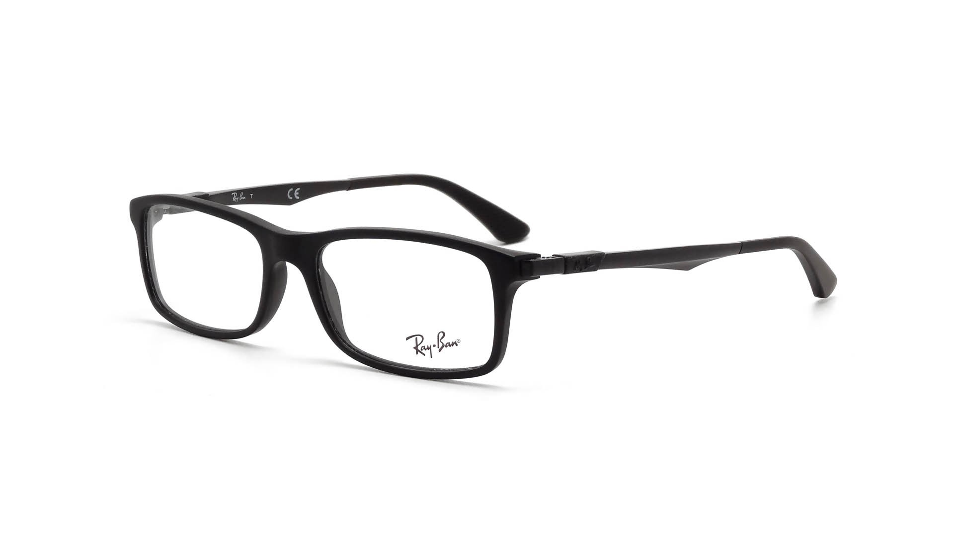 993c775480479 Eyeglasses Ray-Ban RX7017 RB7017 5196 54-17 Black Medium