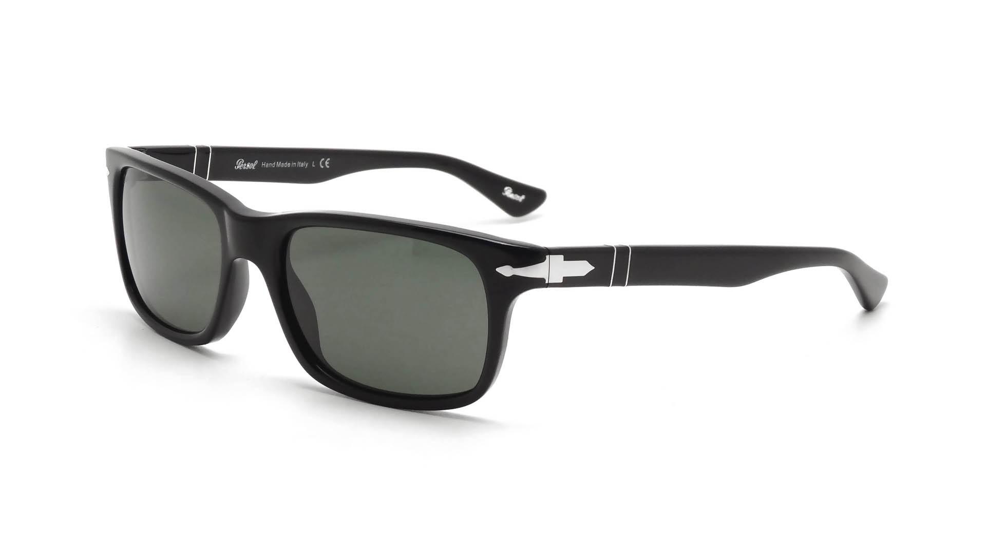 d1d4bfa6fb Sunglasses Persol PO3048S 95 31 55-19 Black Medium