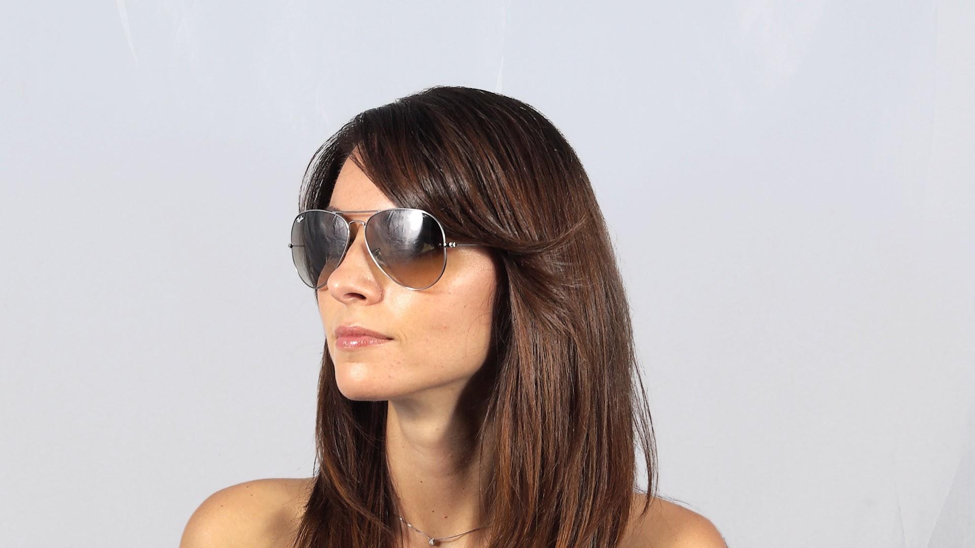 0d300fde953c0b Sunglasses Ray-Ban Aviator Large Metal Grey RB3025 004 51 62-14 Large  Gradient