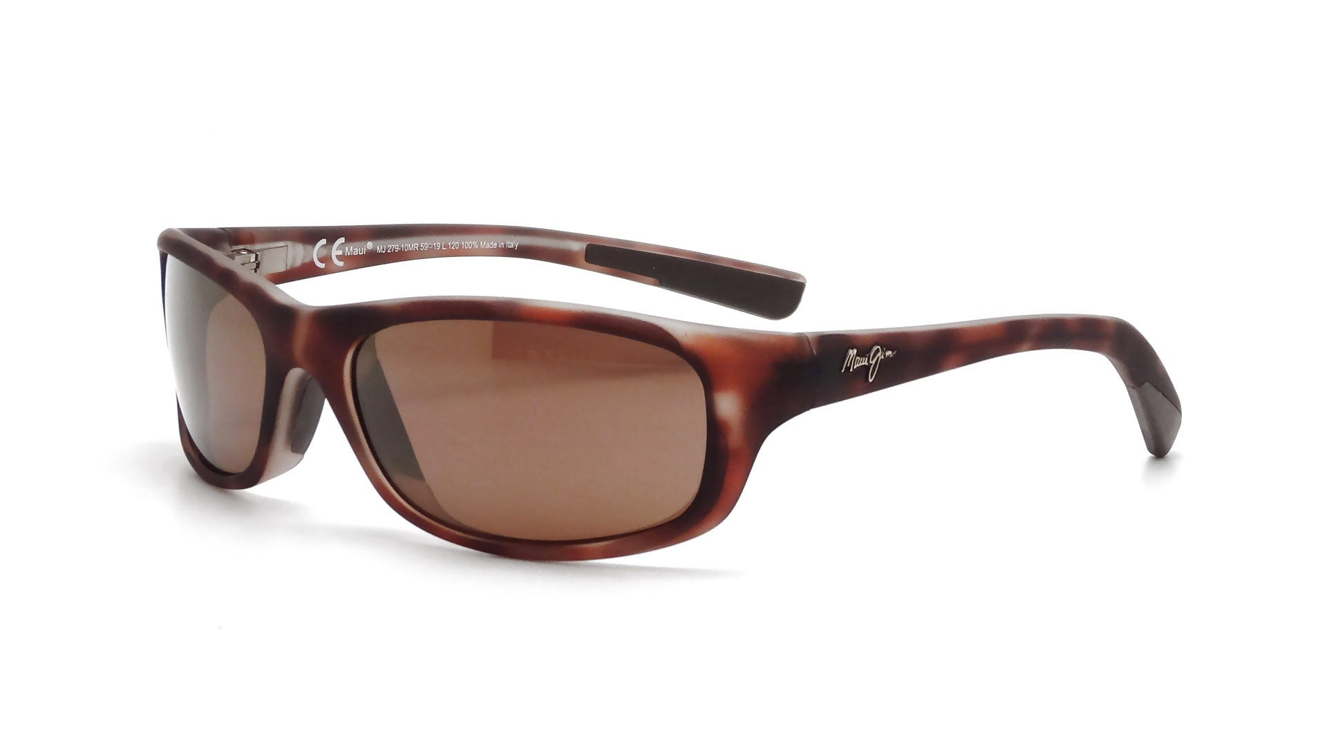 37055ef27d Sunglasses Maui Jim Kipahulu Tortoise H279-10MR 59-19 Large Polarized