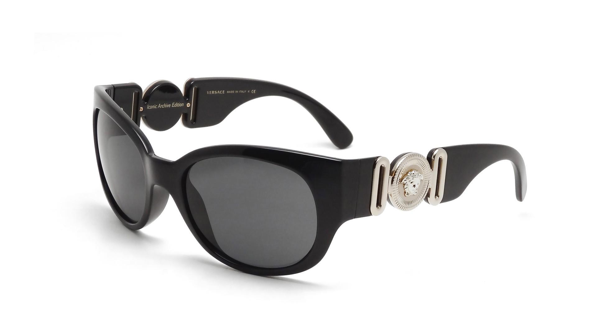 3356204fcadb38 Versace VE4265 GB1 87 57-20 Noir   Prix 179,00 €   Visiofactory