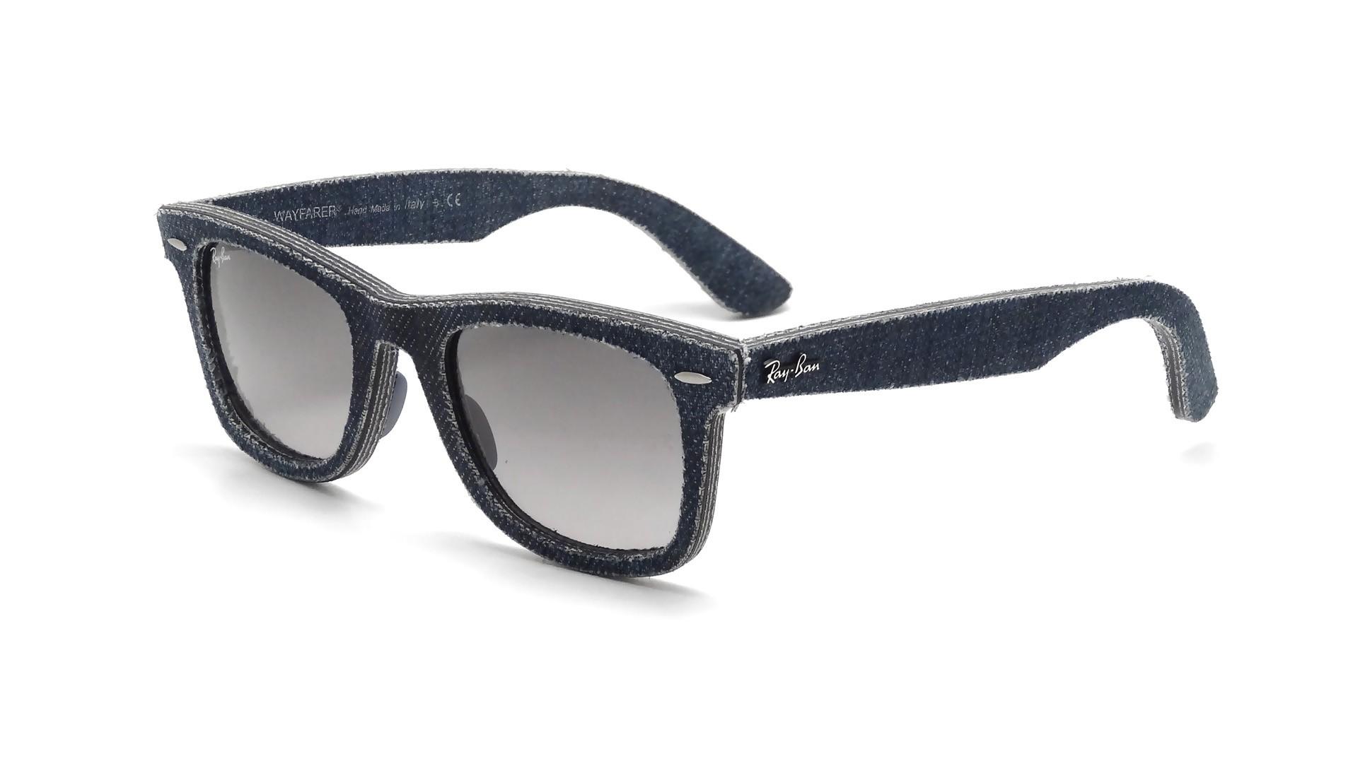 a48eb04c541 Sunglasses Ray-Ban Original Wayfarer Denim Blue RB2140 1163 71 50-18 Medium  Gradient