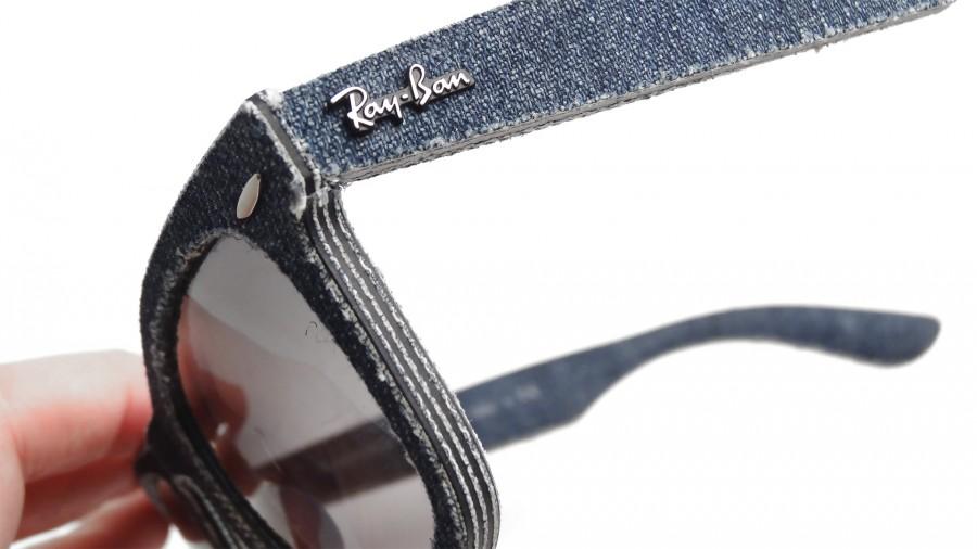 47af43a0292fa ... ray ban original wayfarer rb2140 116371 blue denim grey gradient lens  sunglasses ebay 31645 usa ray ban sunglasses wayfarer denim rb2140 1167 s5  50 ...