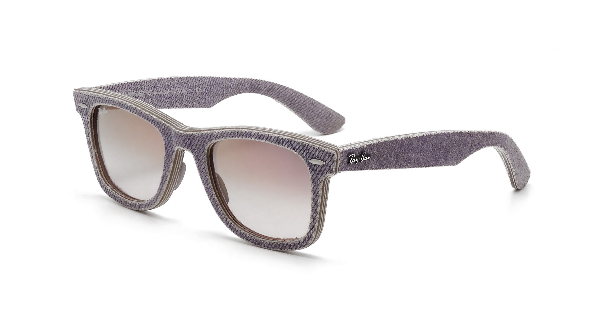1fd4d3dcdf Sunglasses Ray-Ban Original Wayfarer Denim Purple RB2140 1167 S5 50-18  Medium Gradient
