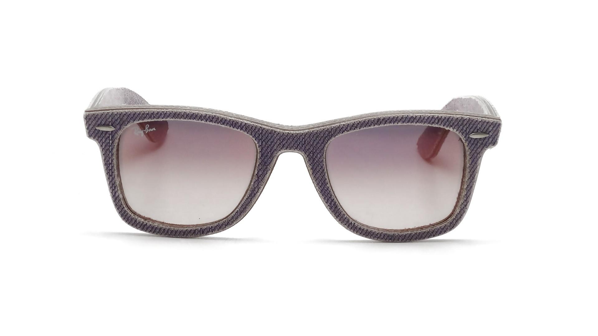 0efa53d0f5b5a Sunglasses Ray-Ban Original Wayfarer Denim Purple RB2140 1167 S5 50-18  Medium Gradient