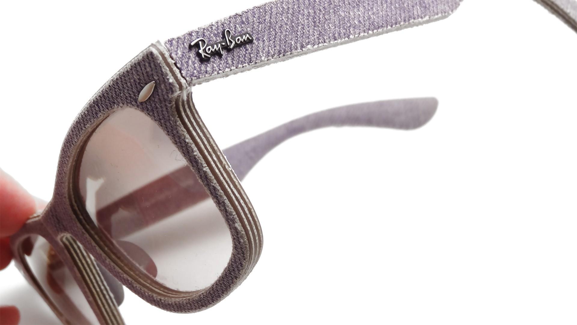 9e60a3f309bdb Ray-Ban Original Wayfarer Denim Purple RB2140 1167 S5 50-18 ...