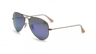 d1a72aca7a Sunglasses Ray-Ban Aviator Large Metal Gold Flash Lenses RB3025 167 1M 55-14  Medium Mirror