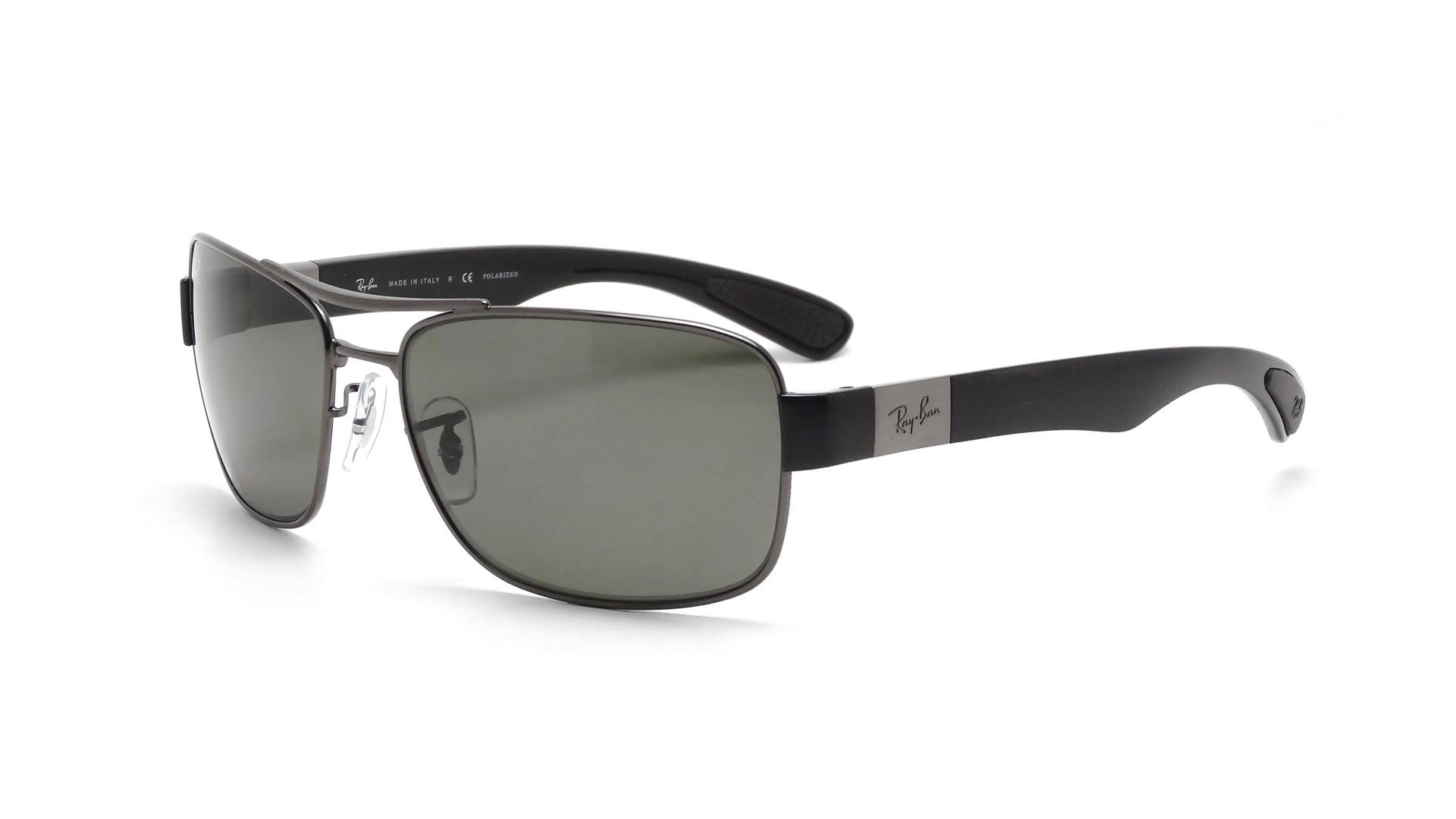 73ac4badf72 Sunglasses Ray-Ban RB3522 004 9A 61-17 Grey Medium Polarized