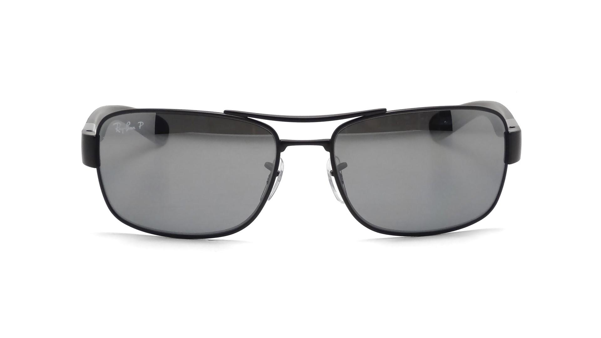 1957cb5fdc3 Sunglasses Ray-Ban RB3522 006 82 61-17 Black Medium Polarized Mirror