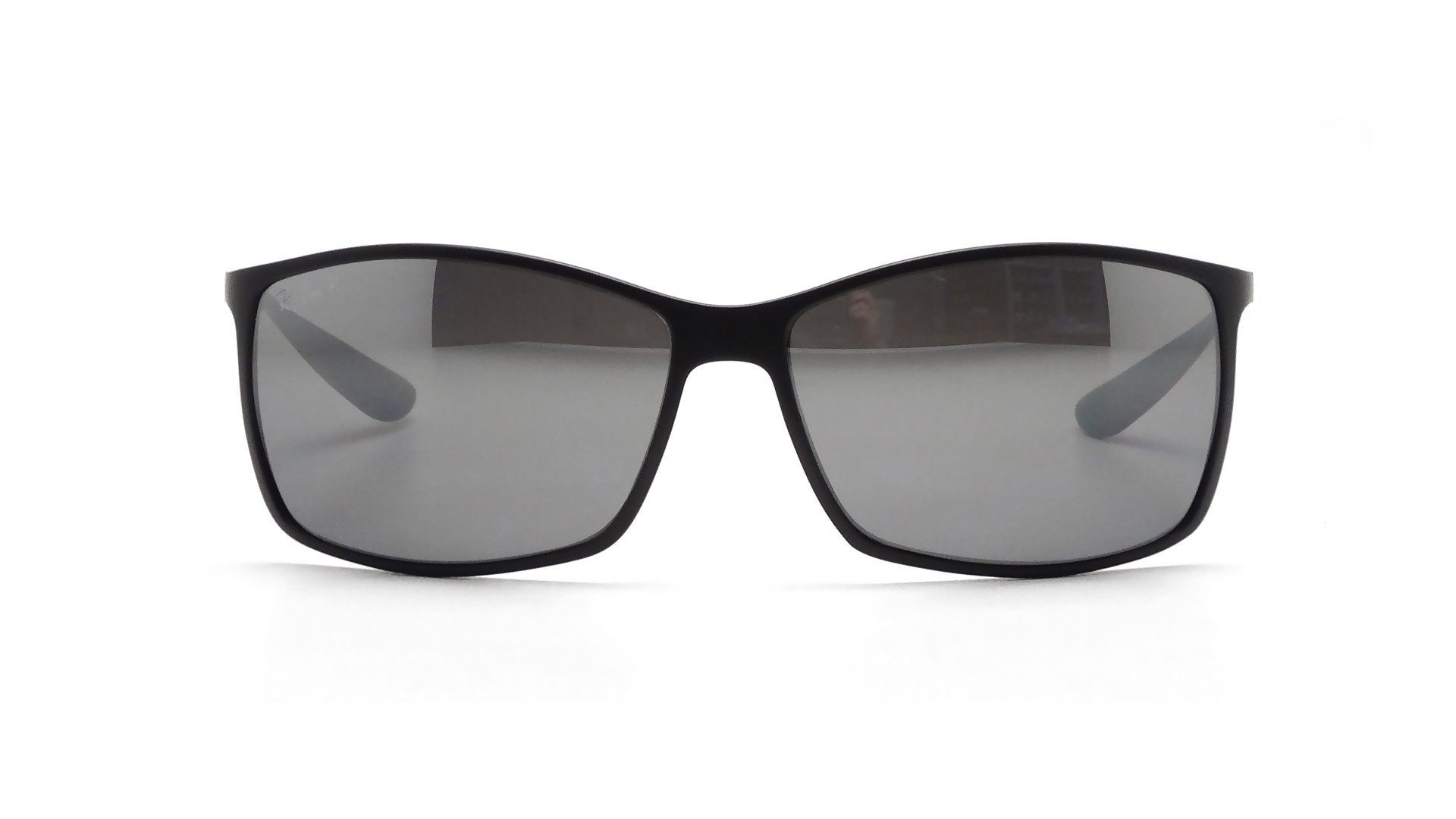 e23fed80a2 Sunglasses Ray-Ban Tech Liteforce Black Matte RB4179 601S 82 62-15 Large  Polarized Mirror