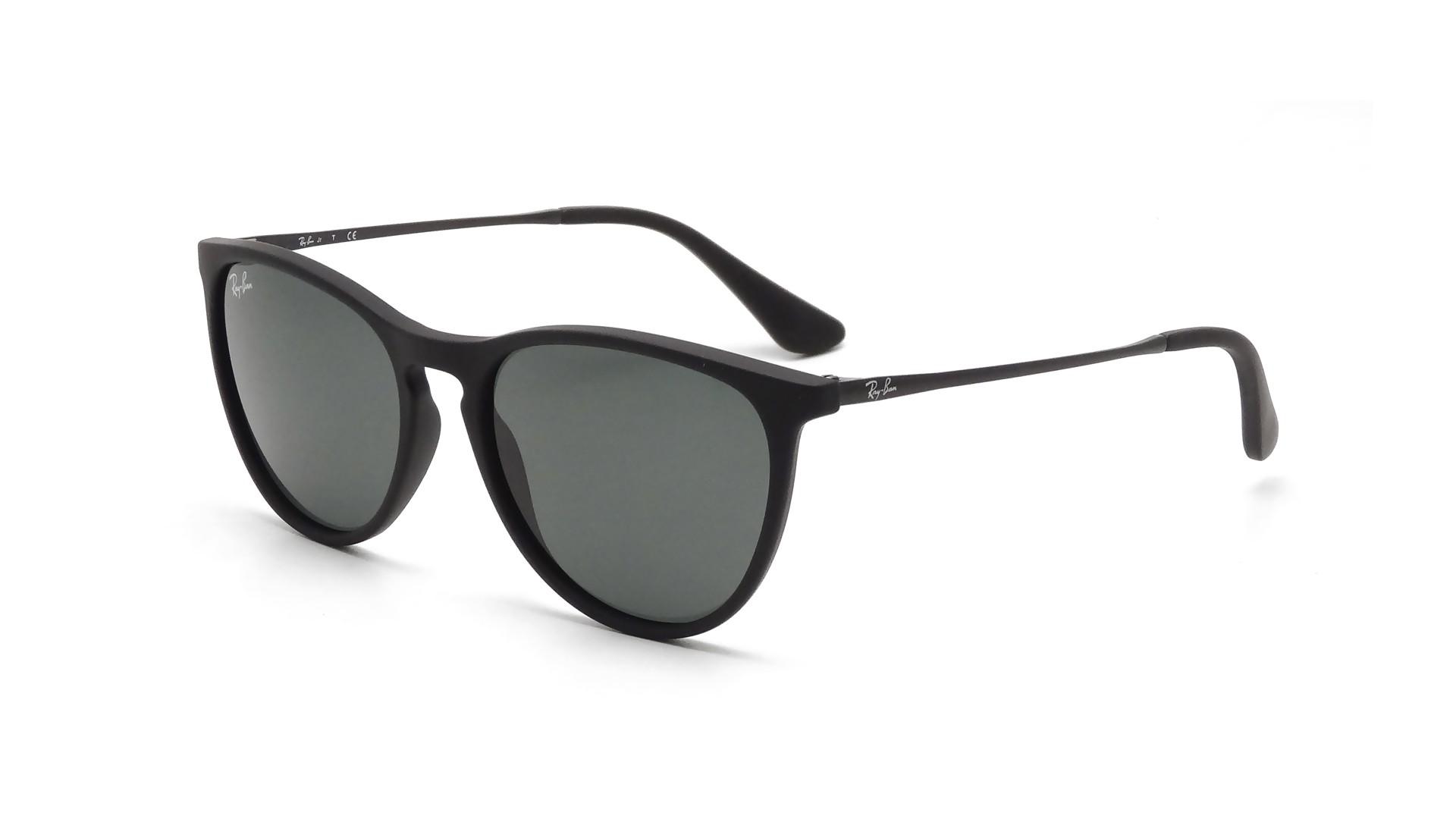 b56c0ed113 Sunglasses Ray-Ban Erika Black RJ9060S 7005 71 50-15 Junior