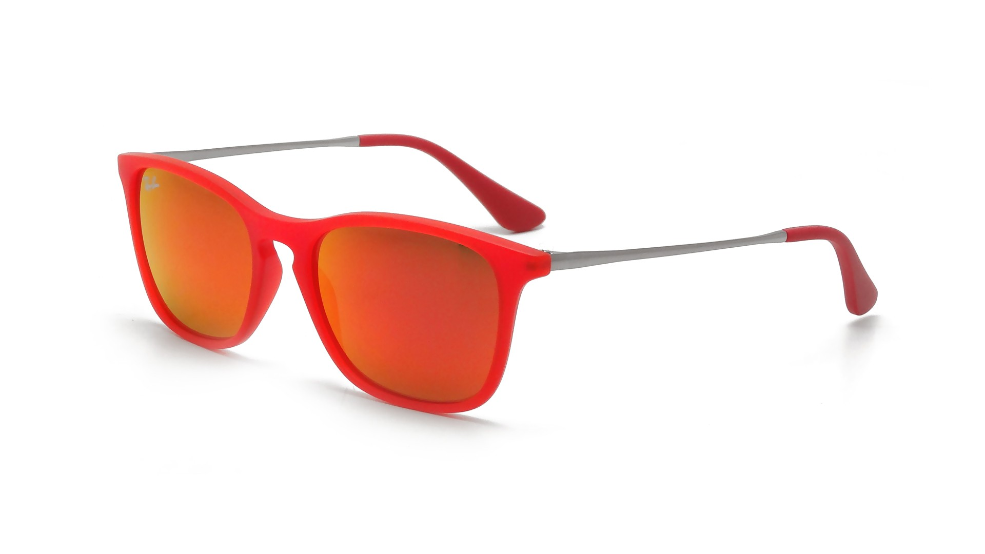 35def6cad9f66 Ray-Ban Chris Red RJ9061S 7010 6Q 49-15