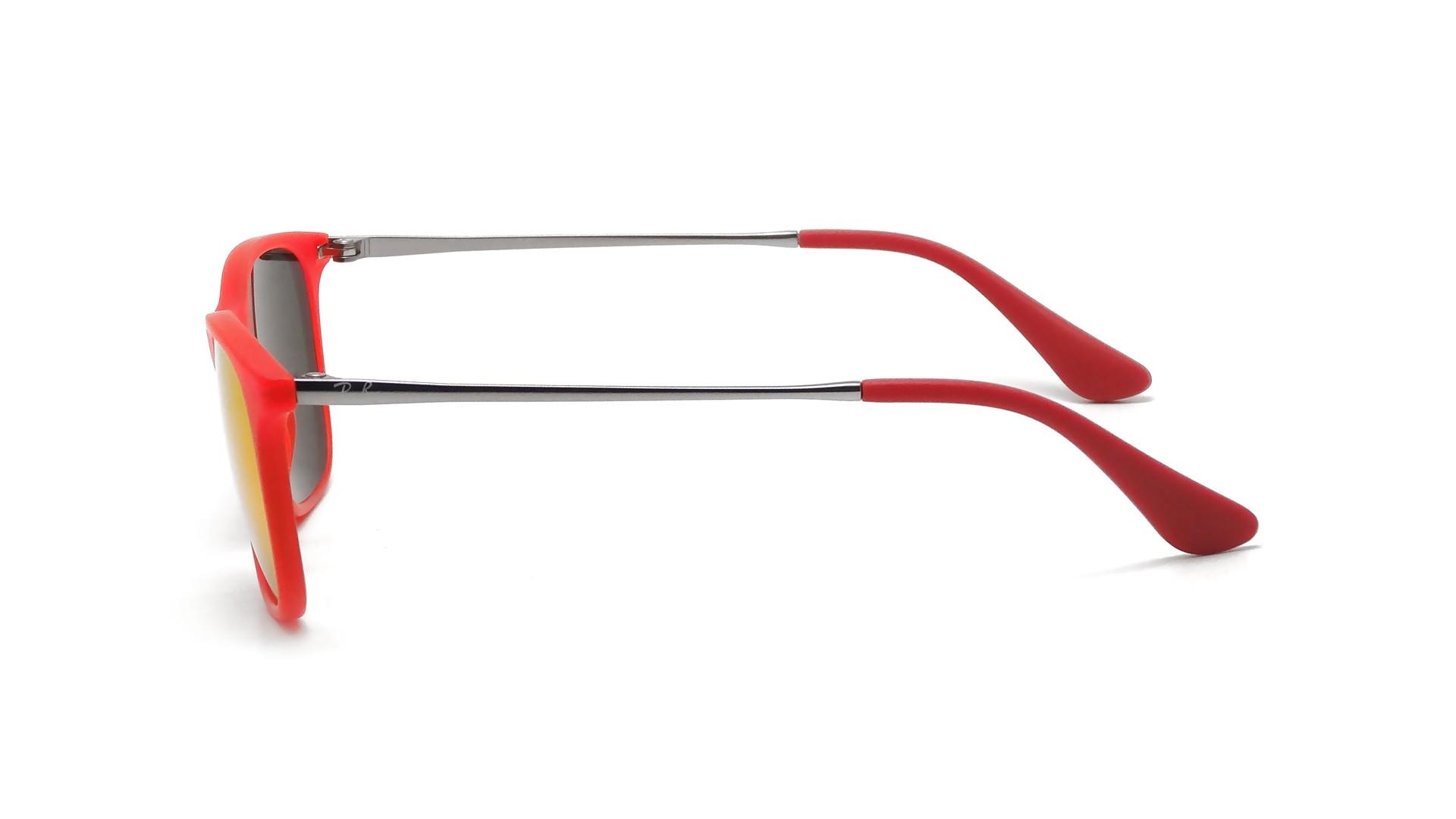 916dda4677 Sunglasses Ray-Ban Chris Red RJ9061S 7010 6Q 49-15 Junior Mirror
