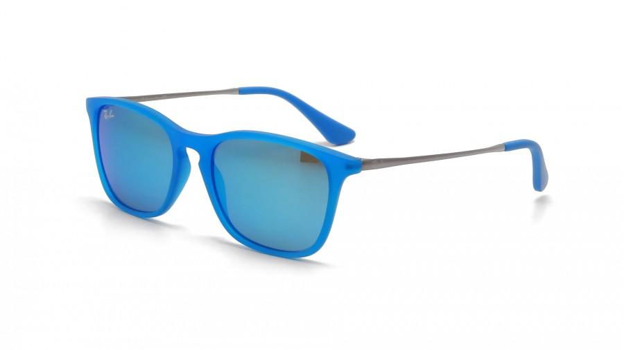 ray ban solaire bleu