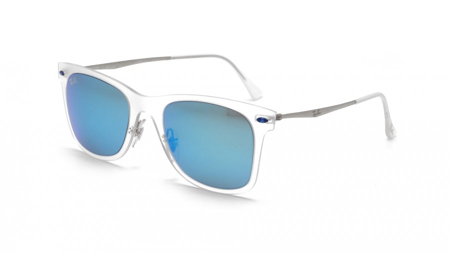 Ray-Ban Wayfarer Light Ray Transparent Mat RB4210 646/55 50-22 |  Visiofactory