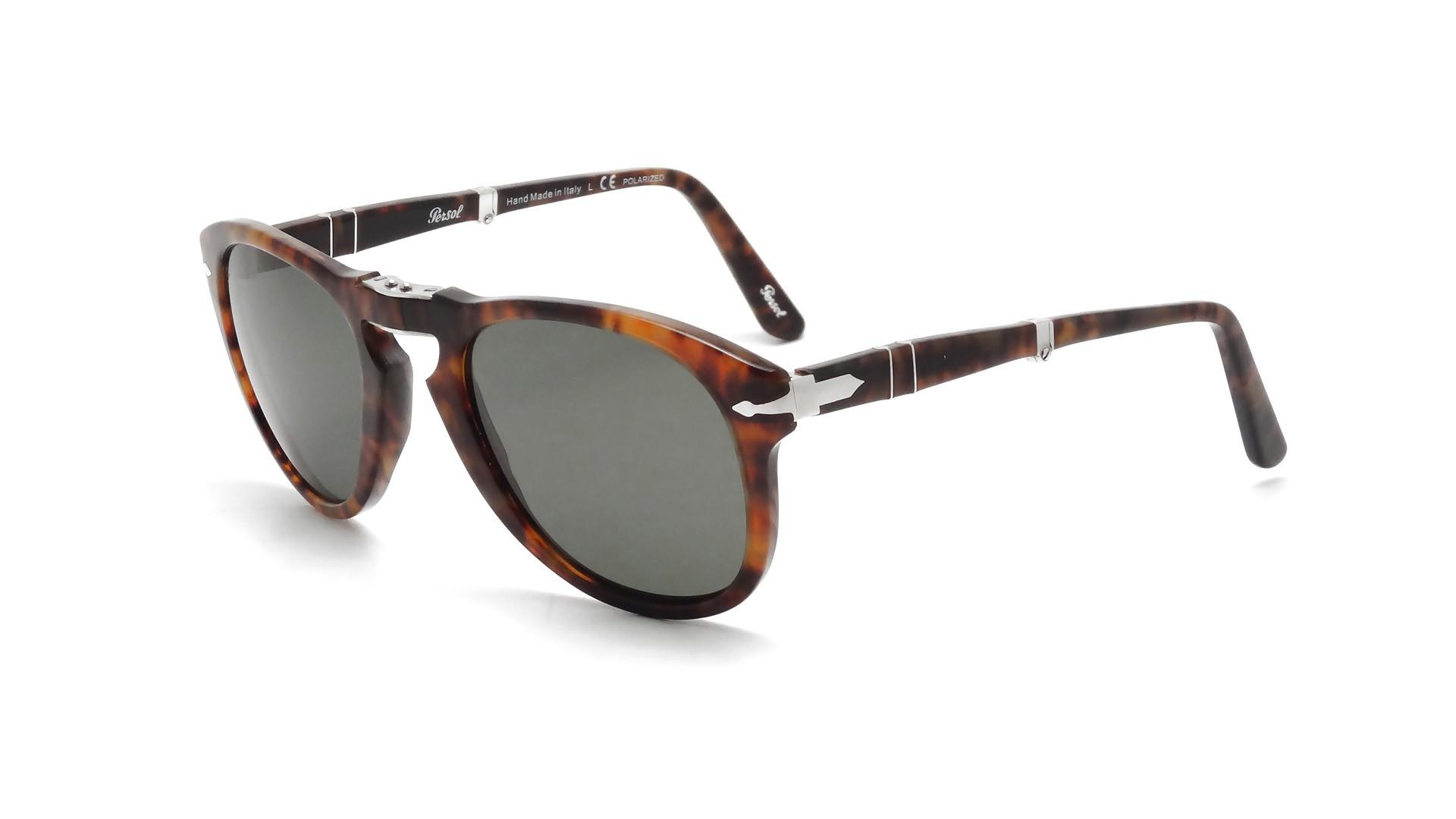 96938390248 Sunglasses Persol PO0714 108 58 52-20 Tortoise Medium Pliantes Polarized  Gradient