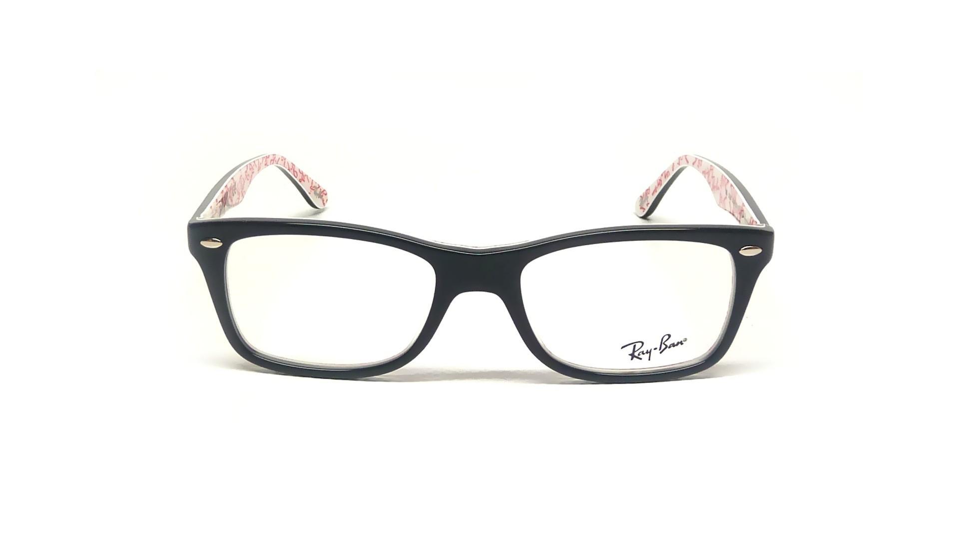 Glasses Ray Ban Rx5228 Rb5228 5014 53 17 Black Visiofactory