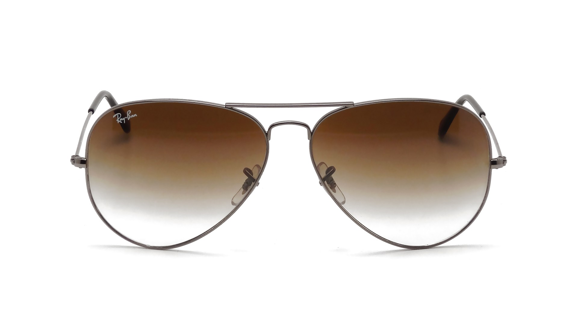 c39e748c7c5 Sunglasses Ray-Ban Aviator Large Metal Silver RB3025 004 51 55-14 Small  Gradient