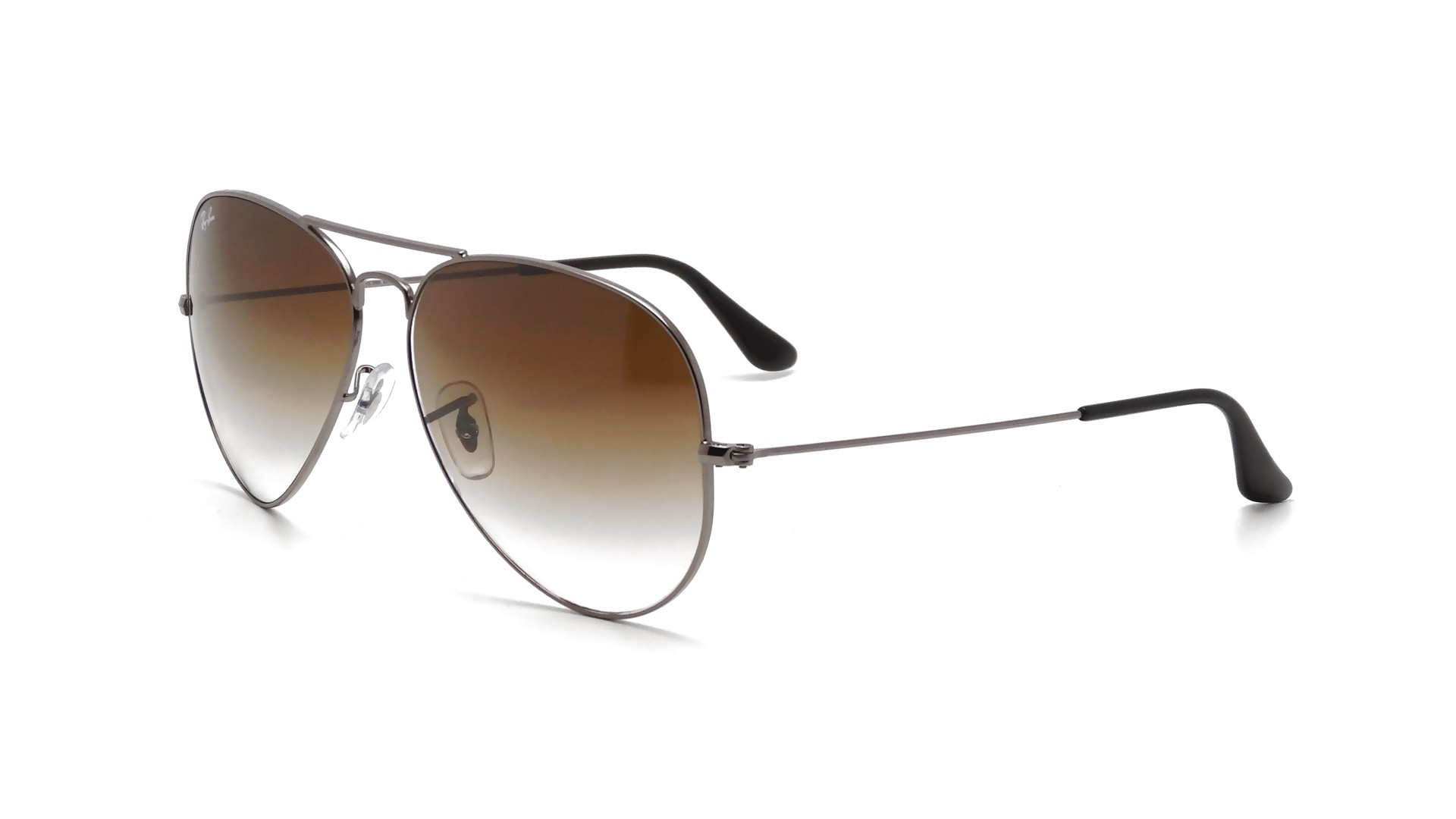 b317b762f08 Sunglasses Ray-Ban Aviator Large Metal Silver RB3025 004 51 55-14 Small  Gradient