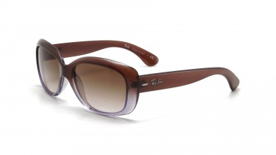Ray-Ban Jackie Ohh Brown RB4101 860 51 58-13   Visiofactory 3e70be57e502