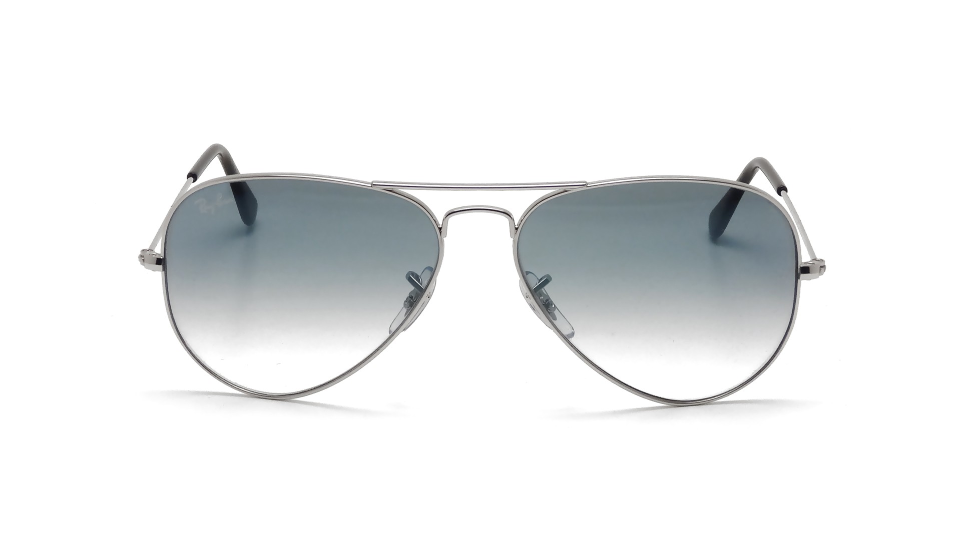 47a1ca7139d Ray-Ban Aviator Large Metal Silver RB3025 003 3F 58-14 Medium Gradient