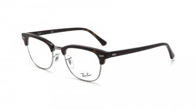 a1ac9ad01317ef Lunettes de vue Ray-Ban Clubmaster Tortoise RX5154 RB5154 2012 51-21 ...